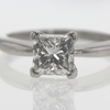 1.51 ct. Princess Cut Solitaire Ring #1