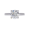 2.0 ct. Round Cut Solitaire Ring, J, SI2 #2