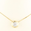 1.04 ct. Round Cut Pendant Necklace #3
