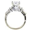 1.49 ct. Round Cut Bridal Set Ring, G, VS1 #2