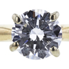 0.73 ct. Round Cut Solitaire Ring, E, SI2 #4