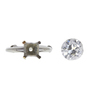 1.98 ct. Old European Cut Solitaire Ring, J, SI2 #3