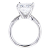 5.01 ct. Radiant Cut Solitaire Ring #3