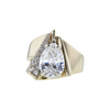 2.37 ct. Pear Cut Solitaire Ring, I, SI2 #4