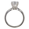 1.0 ct. Round Cut Solitaire Ring, D, SI1 #4