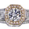 2.01 ct. Round Cut Bridal Set Ring #3