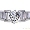 1.02 ct. Round Cut Solitaire Ring, H, I1 #3