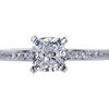 1.06 ct. Cushion Cut Solitaire Ring, D, VS2 #3