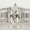 0.89 ct. Marquise Cut Ring #1