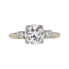 1.23 ct. Round Cut Solitaire Ring, F, VVS2 #3