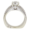 1.22 ct. Round Cut Bridal Set Ring, I, SI1 #4