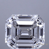 3.1 ct. F SI1, Emerald Cut Engagement Ring and De Beers Eternity Band #1