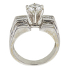 1.0 ct. Round Cut Bridal Set Ring, I-J, I2 #3