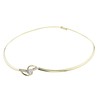 1.01 ct. Round Cut Choker Necklace, H, SI1 #2