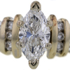 1.04 ct. Marquise Cut Solitaire Ring #4