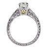 1.04 ct. Round Cut Bridal Set Ring #2