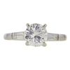 1.17 ct. Round Cut 3 Stone Ring, I, I1 #2