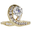 1.06 ct. Circular Brilliant Cut Right Hand Ring, J, I1 #3