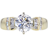 1.22 ct. Round Cut Solitaire Ring, E, SI1 #3