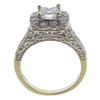 0.91 ct. Princess Cut Bridal Set Ring, F-G, SI2 #3