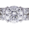 1.52 ct. Round Cut Solitaire Ring, F, I1 #4