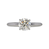 1.03 ct. Round Cut Solitaire Ring, M, VS2 #3