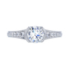 1.21 ct. Round Cut Solitaire Ring, I, VS1 #3