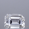 0.73 ct. Emerald Cut 3 Stone Ring, F, VVS2 #1