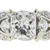 0.9 ct. Princess Cut Ring, G, SI1 #4