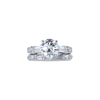 1.43 ct. Round Cut Bridal Set Ring, I, SI1 #2