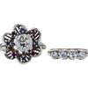 1.60 ct. Round Cut Bridal Set Ring, I, SI2 #3