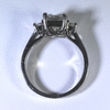 1.0 ct. Princess Cut 3 Stone Ring #3