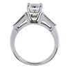 1.56 ct. Emerald Cut Solitaire Ring, F, VS1 #3