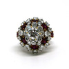 1.5 ct. Round Cut Right Hand Ring #1