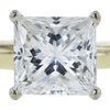 1.22 ct. Princess Cut Solitaire Ring, J, SI1 #4
