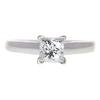 1.04 ct. Princess Cut Solitaire Ring, J, VVS2 #3
