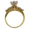 1.42 ct. Round Cut Central Cluster Ring #3