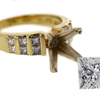 2.44 ct. Princess Cut Solitaire Ring #2