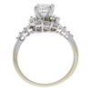 0.91 ct. Round Cut Ring, H, SI2 #4