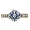 1.61 ct. Round Cut Solitaire Ring, I, VS2 #3