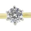 0.63 ct. Round Cut Bridal Set Ring, G, VS1 #4