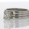 1.03 ct. Princess Cut Solitaire Ring #2