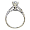 1.11 ct. Pear Cut Bridal Set Ring, J, SI2 #2