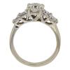 1.02 ct. Round Cut Bridal Set Ring, H, SI2 #4