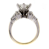 .99 ct. Princess Cut Central Cluster Ring #4