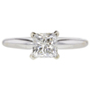1.01 ct. Princess Cut Solitaire Ring, J, SI2 #3