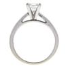 1.04 ct. Princess Cut Solitaire Ring, J, VVS2 #4