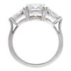 1.35 ct. Round Cut Bridal Set Ring, F, SI1 #4