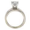 1.3 ct. Princess Cut Bridal Set Ring, G, SI1 #3