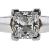 1.19 ct. Princess Cut Bridal Set Ring, G, SI2 #4